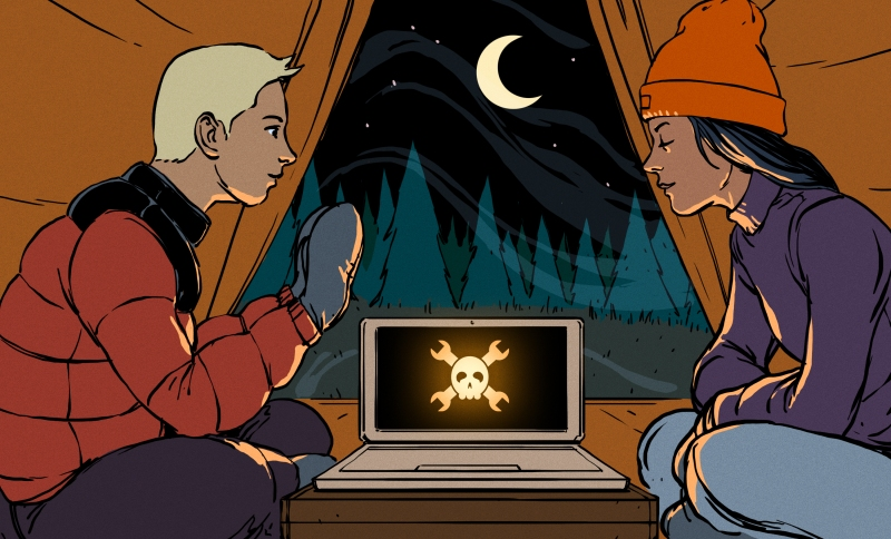 Ask Hackaday: What's the Best Way To Heat a Tent with a Laptop?