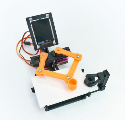 A fully assembled TICO robot