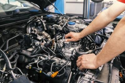 Complicated car engine
