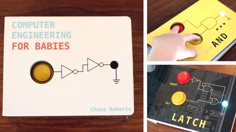 One Man's Quest to Build a Baby Book With Brains