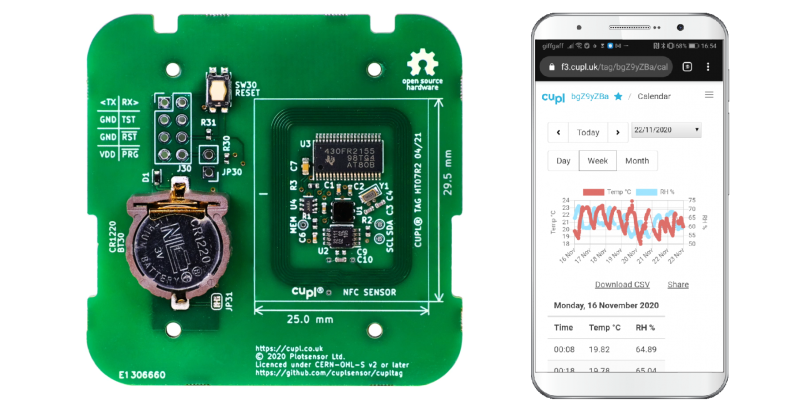 Download From NFC Datalogger, No App Required