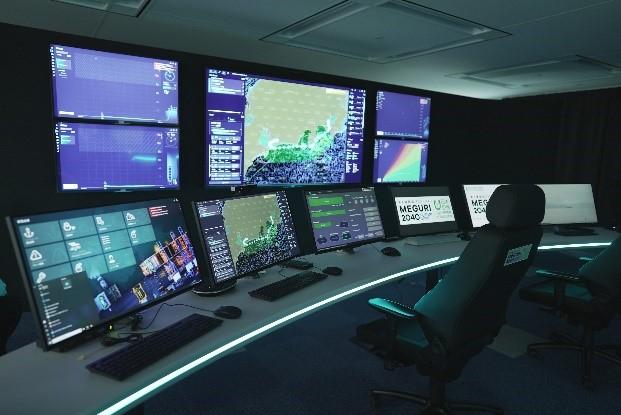 NYK Line's Fleet Operation Center in Japan