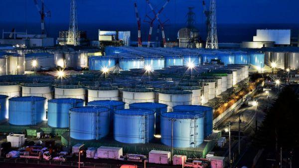 Fukushima Daiichi at night
