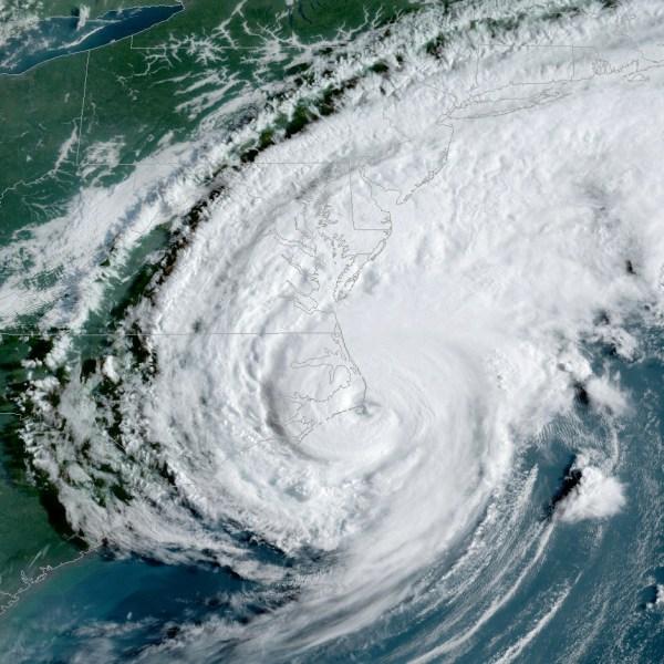 Satellite image of Hurrican Dorian