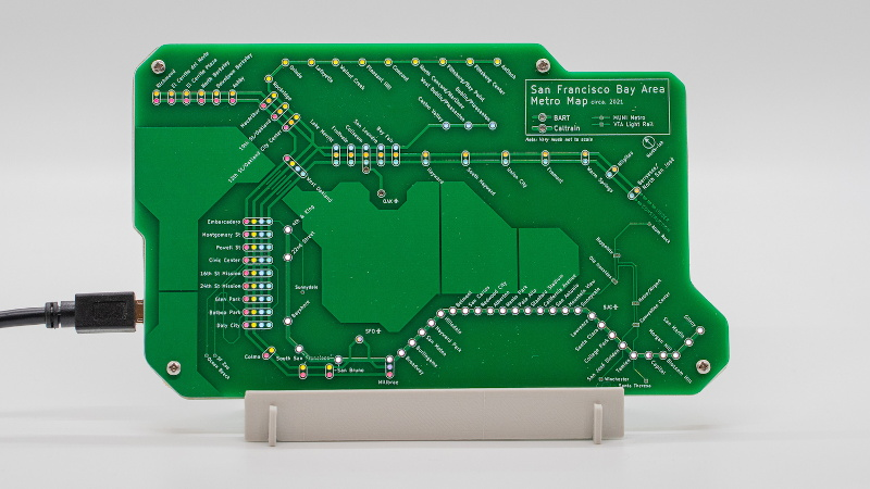 PCB Metro Maps Are a Gorgeous Labor Of Love