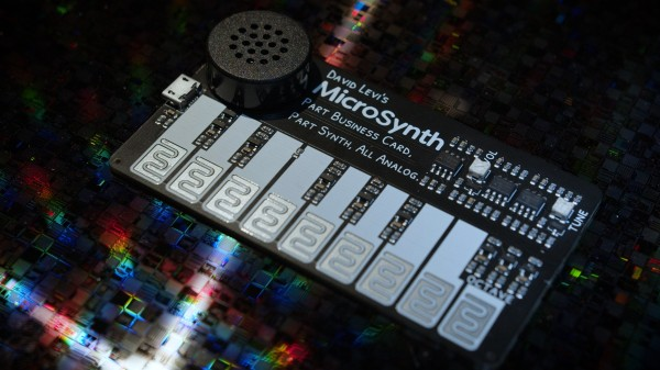 MicroSynth, the business card-sized synthesizer