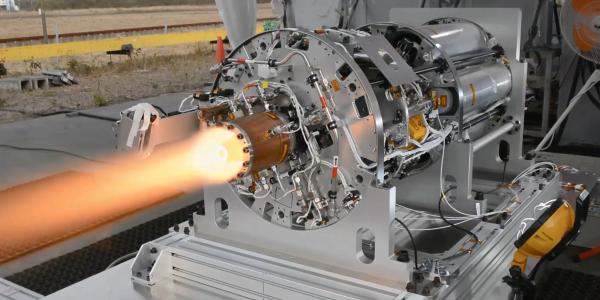 Image of detonation engine firing