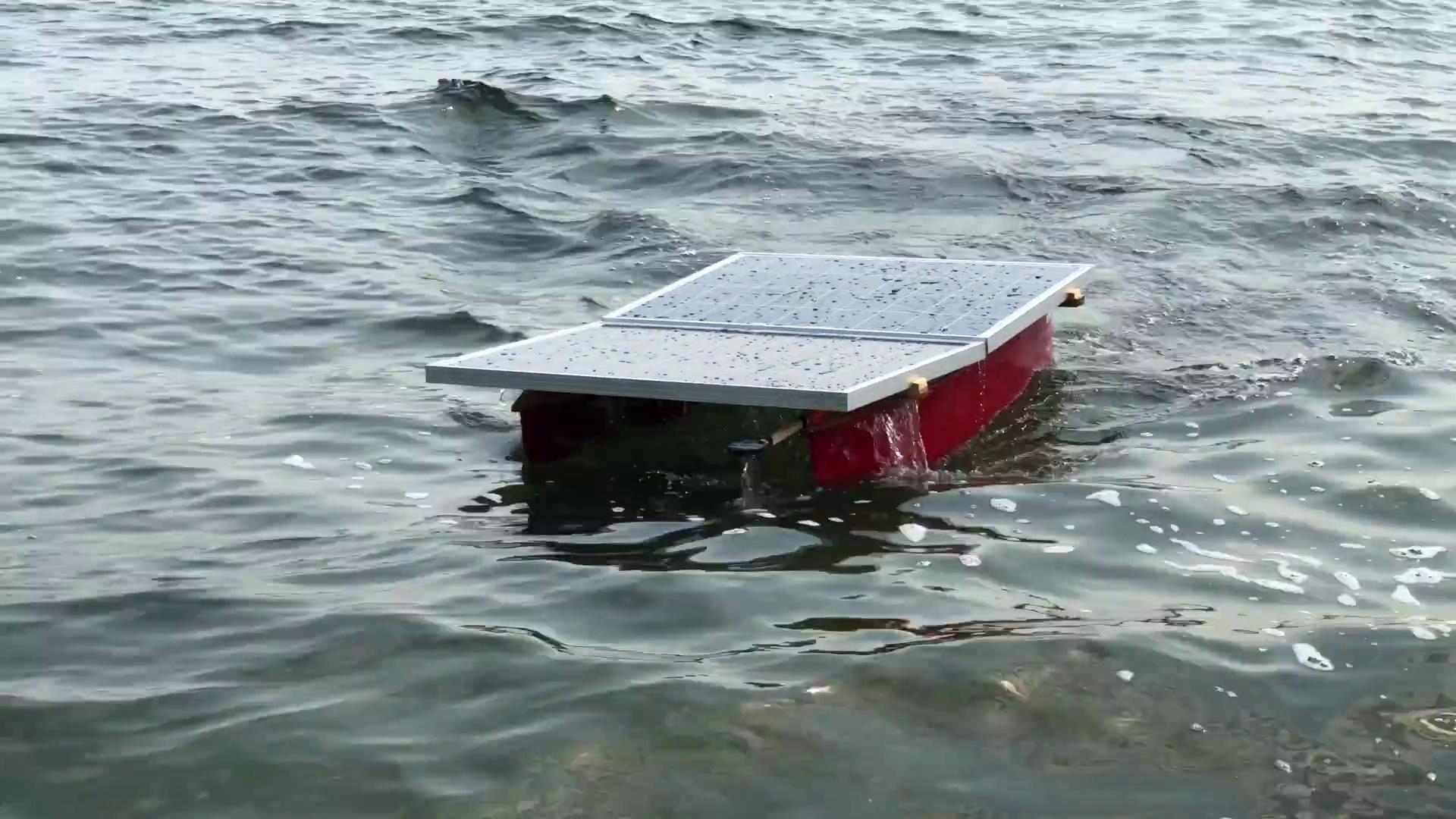 Solar Powered Autonomous Tugboat For Rescuing Autonomous Vessels