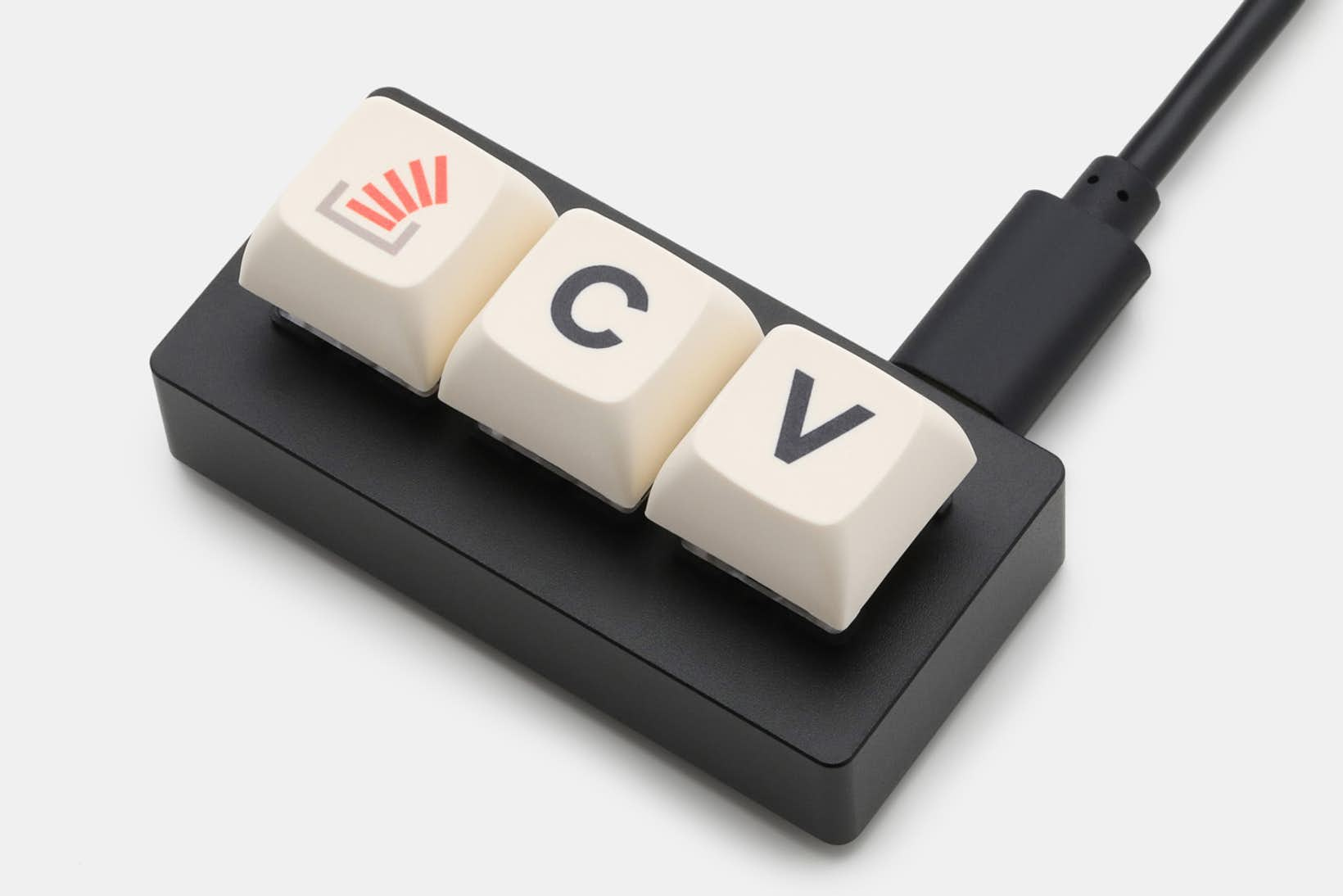 A dedicated macropad for copying and pasting code from Stack Overflow.