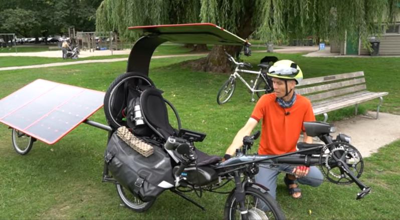 DIY Solar Ebike Goes Around the World, We Hope