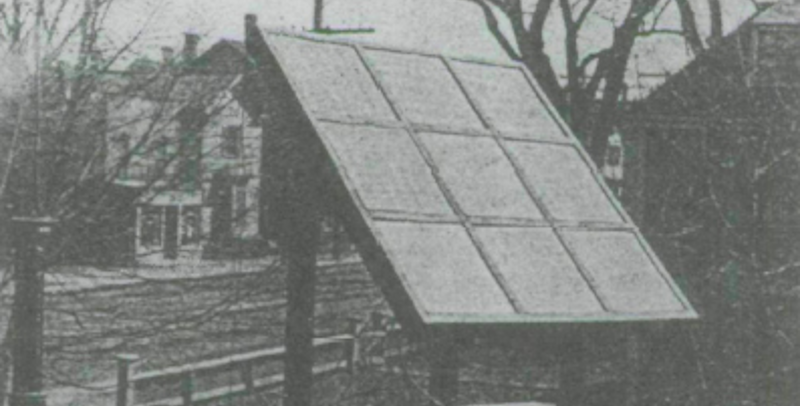 Solar Power Goes Back to 1910 Tech